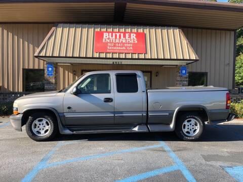 2000 Chevrolet Silverado 1500 for sale at Butler Enterprises in Savannah GA