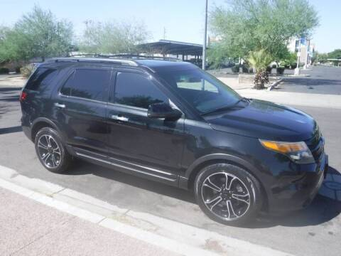 2013 Ford Explorer for sale at J & E Auto Sales in Phoenix AZ