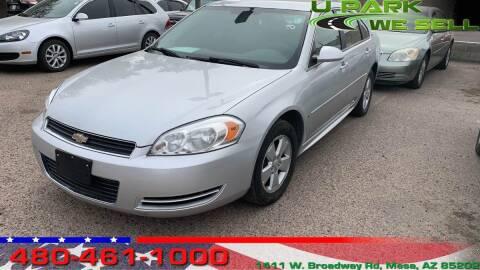 2009 Chevrolet Impala for sale at UPARK WE SELL AZ in Mesa AZ