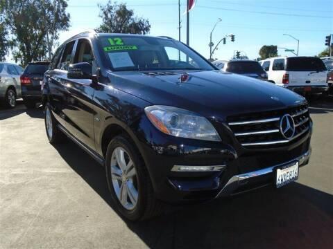 2012 Mercedes-Benz M-Class for sale at Centre City Motors in Escondido CA