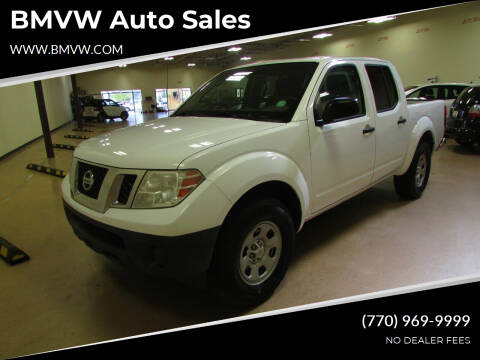 2012 Nissan Frontier for sale at BMVW Auto Sales - Trucks and Vans in Union City GA