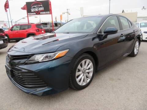 2018 Toyota Camry for sale at Moving Rides in El Paso TX