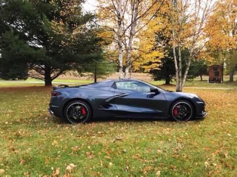 2020 Chevrolet Corvette for sale at DAVE KNAPP USED CARS in Lapeer MI