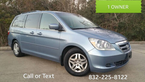 2007 Honda Odyssey for sale at Houston Auto Preowned in Houston TX