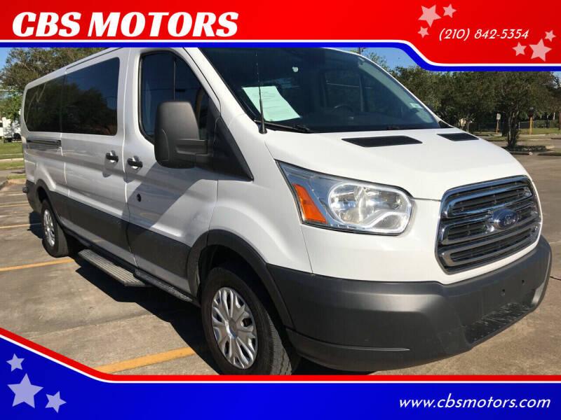 2015 Ford Transit Passenger for sale at CBS MOTORS in San Antonio TX