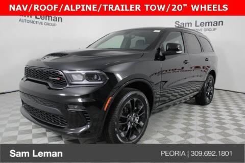 2021 Dodge Durango for sale at Sam Leman Chrysler Jeep Dodge of Peoria in Peoria IL