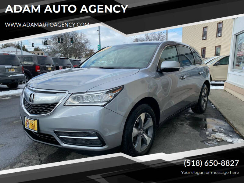 2016 Acura MDX for sale at ADAM AUTO AGENCY in Rensselaer NY