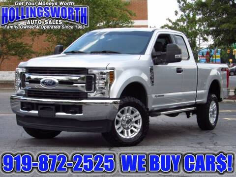 2018 Ford F-250 Super Duty for sale at Hollingsworth Auto Sales in Raleigh NC