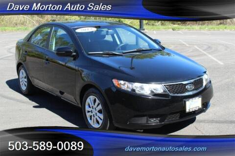 2012 Kia Forte for sale at Dave Morton Auto Sales in Salem OR