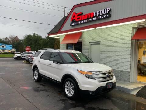 2013 Ford Explorer for sale at AG AUTOGROUP in Vineland NJ