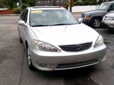 2005 Toyota Camry for sale at Trust Petroleum in Rockland MA