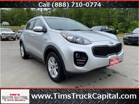 2018 Kia Sportage for sale at TTC AUTO OUTLET/TIM'S TRUCK CAPITAL & AUTO SALES INC ANNEX in Epsom NH