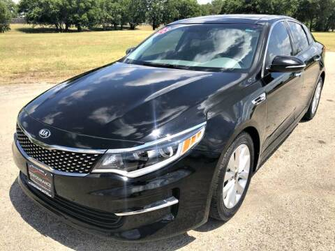 2016 Kia Optima for sale at Performance Motors Killeen Second Chance in Killeen TX
