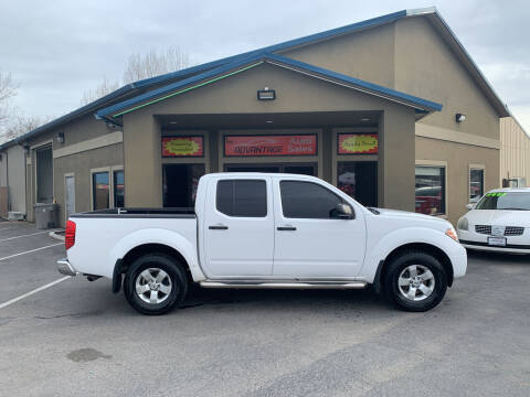 2012 Nissan Frontier for sale at Advantage Auto Sales in Garden City ID