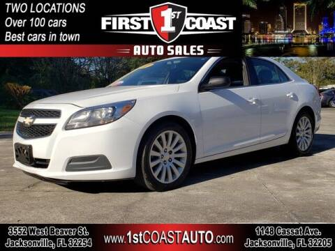 2013 Chevrolet Malibu for sale at 1st Coast Auto -Cassat Avenue in Jacksonville FL