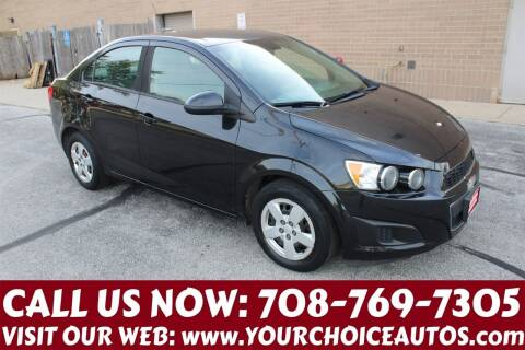 2013 Chevrolet Sonic for sale at Your Choice Autos in Posen IL