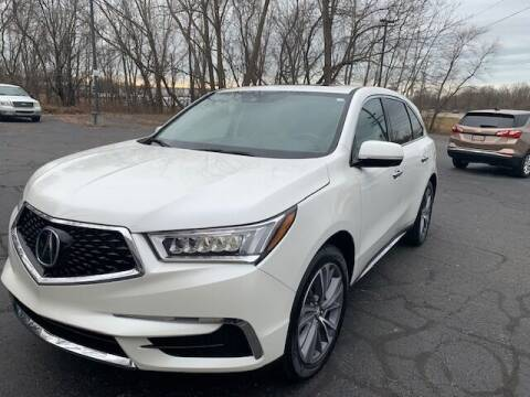 2018 Acura MDX for sale at Lighthouse Auto Sales in Holland MI