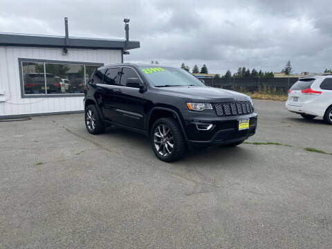 2017 Jeep Grand Cherokee for sale at Skyline Auto Sales in Santa Rosa CA