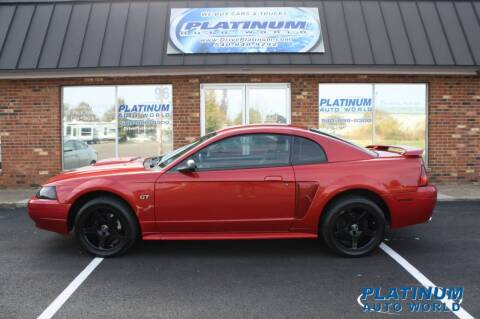 2002 Ford Mustang for sale at Platinum Auto World in Fredericksburg VA