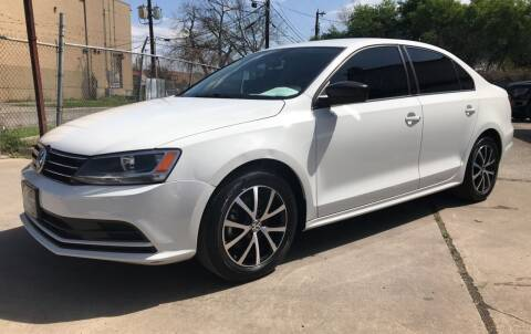2016 Volkswagen Jetta for sale at FAST LANE AUTO SALES in San Antonio TX