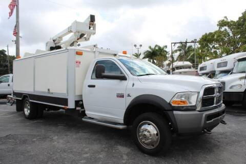 2011 RAM Ram Chassis 5500 for sale at Truck and Van Outlet - All Inventory in Hollywood FL