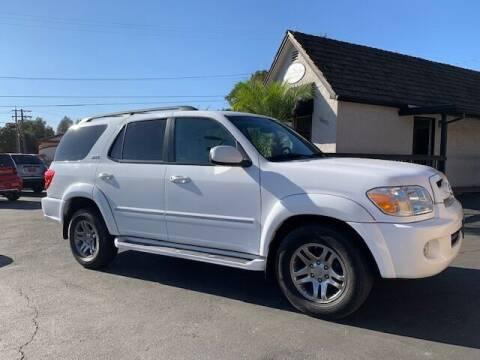 2007 Toyota Sequoia for sale at Three Bridges Auto Sales in Fair Oaks CA