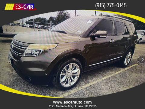 2015 Ford Explorer for sale at Escar Auto in El Paso TX