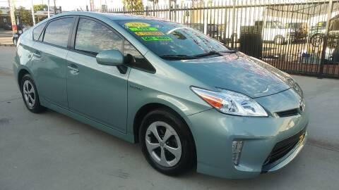 2014 Toyota Prius for sale at El Guero Auto Sale in Hawthorne CA