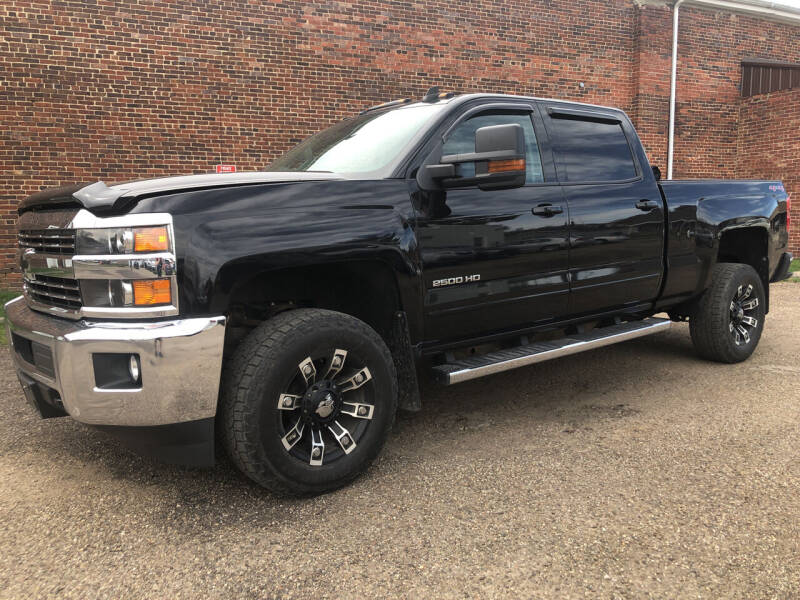 2015 Chevrolet Silverado 2500HD for sale at Jim's Hometown Auto Sales LLC in Byesville OH