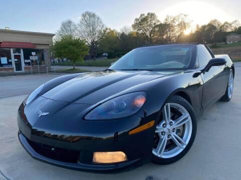 2009 Chevrolet Corvette for sale at Gwinnett Luxury Motors in Buford GA