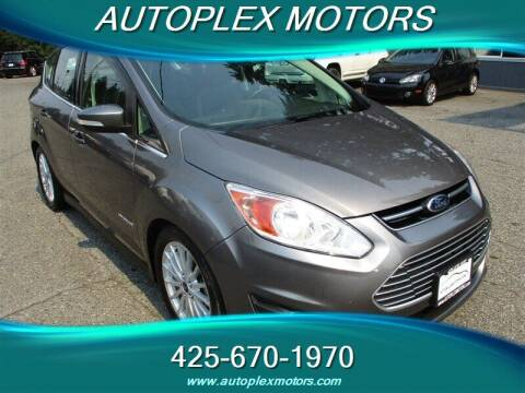 2013 Ford C-MAX Hybrid for sale at Autoplex Motors in Lynnwood WA