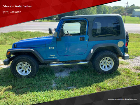 2003 Jeep Wrangler for sale at Steve's Auto Sales in Harrison AR