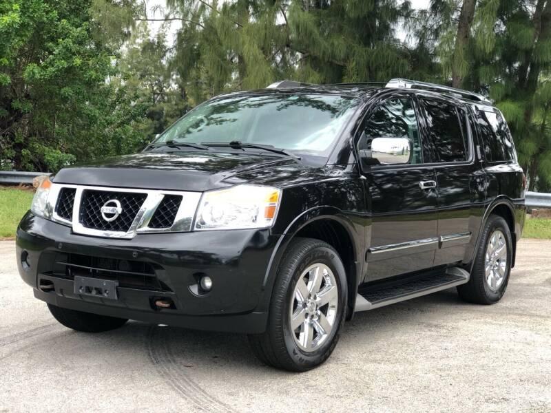2014 Nissan Armada for sale at CAR UZD in Miami FL