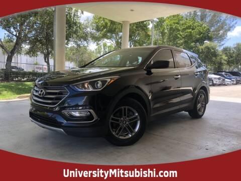 2018 Hyundai Santa Fe Sport for sale at FLORIDA DIESEL CENTER in Davie FL