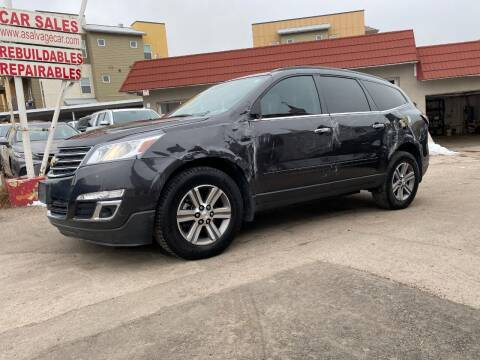 2016 Chevrolet Traverse for sale at STS Automotive in Denver CO
