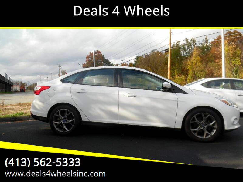 2013 Ford Focus for sale at Deals 4 Wheels in Westfield MA