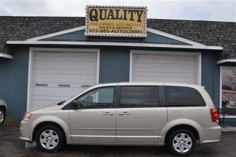 2012 Dodge Grand Caravan for sale at Quality Pre-Owned Automotive in Cuba MO