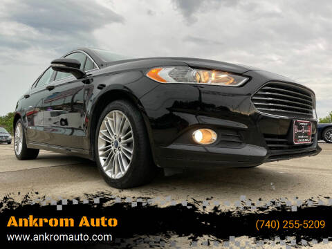 2016 Ford Fusion for sale at Ankrom Auto in Cambridge OH