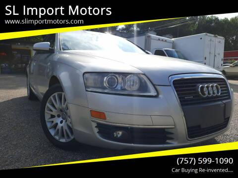 2007 Audi A6 for sale at SL Import Motors in Newport News VA