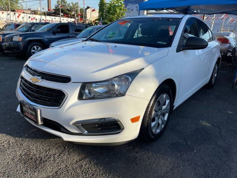 2015 Chevrolet Cruze for sale at North Jersey Auto Group Inc. in Newark NJ