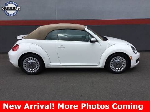 2013 Volkswagen Beetle Convertible for sale at Road Ready Used Cars in Ansonia CT