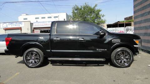 2017 Nissan Titan for sale at AFFORDABLE MOTORS OF BROOKLYN in Brooklyn NY