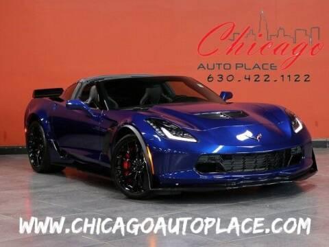 2016 Chevrolet Corvette for sale at Chicago Auto Place in Bensenville IL