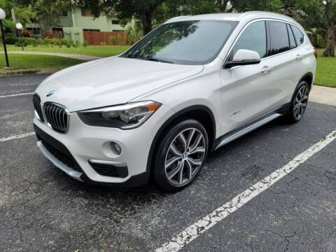 2017 BMW X1 for sale at Fort Lauderdale Auto Sales in Fort Lauderdale FL