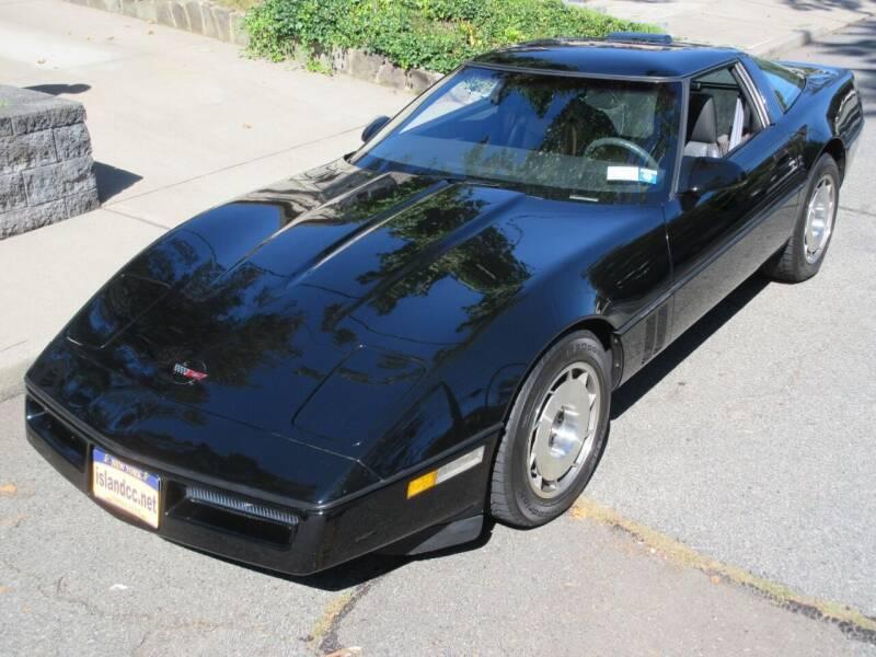 1987 Chevrolet Corvette for sale at Island Classics & Customs in Staten Island NY