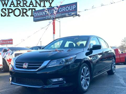 2014 Honda Accord for sale at Divan Auto Group in Feasterville PA