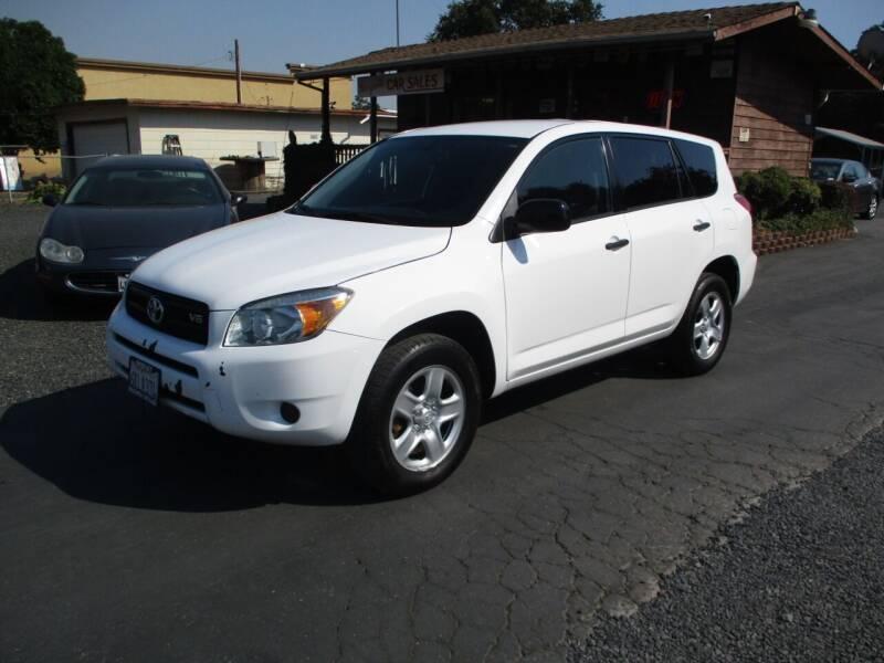 2008 Toyota RAV4 for sale at Manzanita Car Sales in Gridley CA