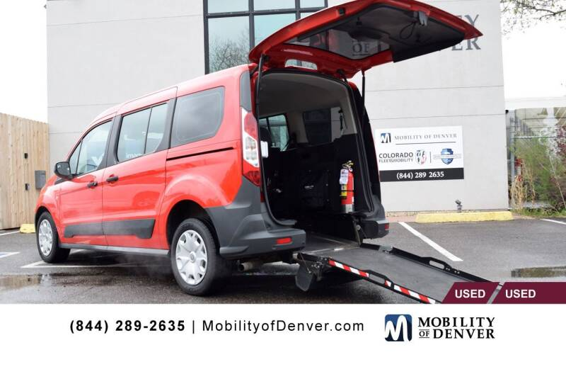 2017 Ford Transit Connect Wagon for sale at CO Fleet & Mobility in Denver CO
