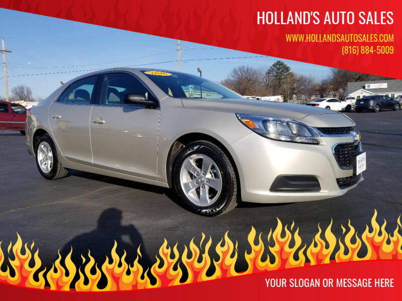 2016 Chevrolet Malibu Limited for sale at Holland's Auto Sales in Harrisonville MO