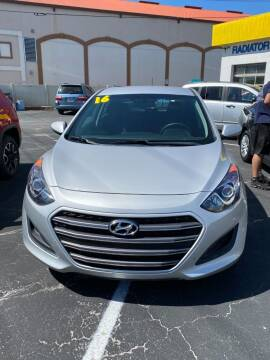 2016 Hyundai Elantra GT for sale at DUNEDIN AUTO SALES INC in Dunedin FL